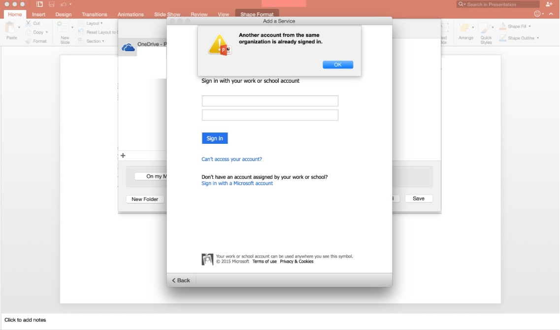 Problem Activating Office For Mac (Office365) – IT Som3thing5
